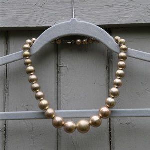 Vintage bubbles necklace!